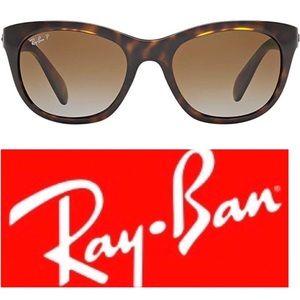Ray-Ban Polarized Sunglasses Tortoise Shell New